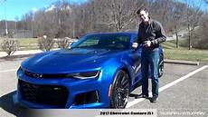 Light Blue Camaro 2017 Review 2017 Chevrolet Camaro Zl1 10 Speed Youtube