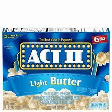 Light Popcorn Light Butter Popcorn Act Ii