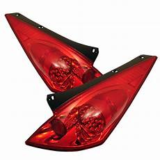 2005 Nissan 350z Airbag Light Nissan 350z 2002 2005 Red Clear Led Lights By Spyder