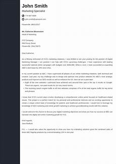 Cove Letters Professional Cover Letter Design Examples Expert Tips