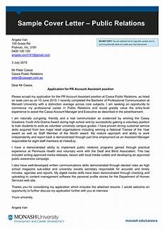 Public Policy Cover Letters Public Relations Sample Cover Letter