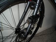 Bicycle Fork Light My Stent On A Bike Diy Fork Mount For Lights
