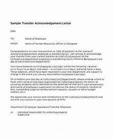 University Transfer Letter Sample Free 55 Job Letter Templates In Pdf Ms Word