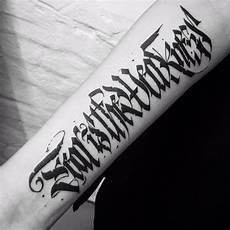 Lettering Fonts Tattoos 110 Best Lettering Designs Amp Meanings 2019