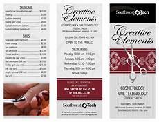 Pricelist Template Beauty Creative Elements Salon Price List Templates At