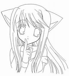 anime cat drawing at getdrawings free