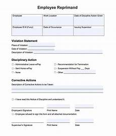 Employee Write Up Forms Free 20 Employee Write Up Form Free Download Pdf Word