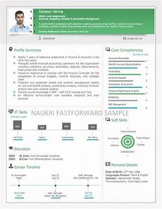Naukri Resume Writing Examples Of Visual Resume Omutantex