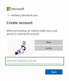 Creat E Mail How To Create An Outlook Email Account 9 Steps With