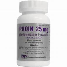 Proin Dosage Chart Proin 25 Mg Per Tablet