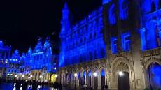 Brussels Christmas Market Light Show Grand Place Sound And Light Show 2015 Winter Wonders And