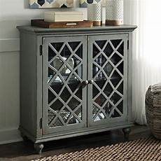mirimyn antique gray accent cabinet by signature design by