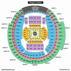 Rogers Centre Seating Chart Rogers Centre Seating Chart Seating Charts Amp Tickets