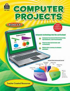 Front Page For Computer Project Computer Projects Grade 5 6 Tcr2394 Teacher Created