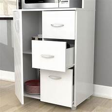 new kitchen microwave cart white utility cabinet