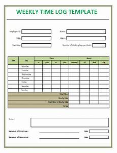 Time Log Excel Time Log Templates 14 Free Printable Word Excel Amp Pdf