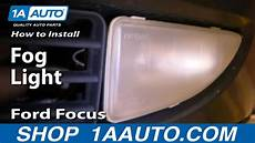2013 Ford Focus Fog Light Install How To Replace Repair Install Fog Light On Ford Focus 00