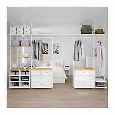 ikea mobili da letto elvarli 5 elementen wit bamboe in 2019 diy wohnzimmer