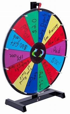 Diy Prize Wheel Promotional Prize Wheel Write On Surface And Wooden Pegs