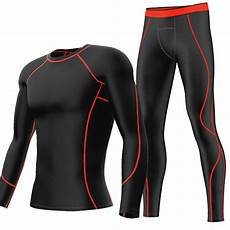 compression clothes for mens sports exercise compression shirt base layer