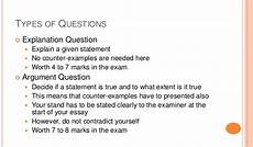 Essay Question Examples History Structured Essay Questions