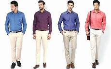 Light Pink Shirt What Color Pants What Colour Pants Go Well With A Light Blue Shirt For Men