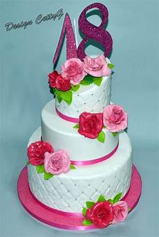 fiori 18 anni le torte decorate di cettyg 18 anni cake