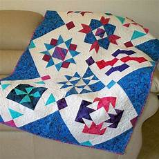 Patchwork Sofa 3d Image by Quilt Or Sofa Throw With 3d Piecing In By