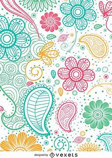 Paisley Design Images Colorful Paisley Pattern Vector Download