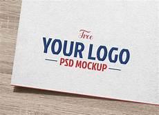 Logo Mockup Free Free Natural White Paper Logo Logotype Mockup Psd Good