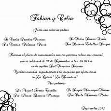 Invitaciones De Boda Ejemplos Textos Tradicionales Para Invitaciones One And Only Day