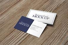 Business Mockup Business Card On Wood Mockup Pack