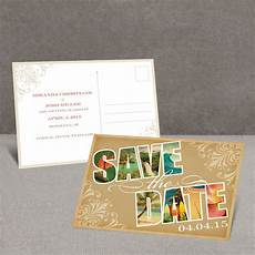 Save The Date Postcard Souvenir Tropical Save The Date Postcard Invitations By Dawn