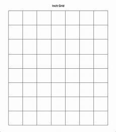 1 Inch Grid Paper Pdf Free 9 1 Inch Graph Papers In Pdf