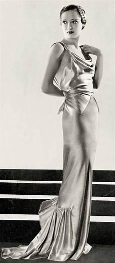 1930s evening dress art deco gown party dress gowns