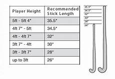 Ice Hockey Stick Height Chart Size Guide Grays Hockey South Africa