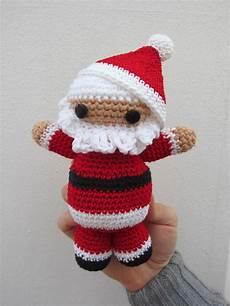 amigurumi para navidad pap 225 noel el hogar de las lanas