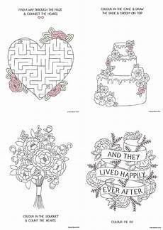 Free Printable Wedding Coloring Books Free Printable Wedding Colouring Sheets For