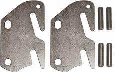 wood bed rail hook plate replacement 13 ga usa