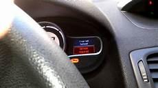 Renault Master Service Light Reset Reset Service Light Renault Megane 3 Youtube
