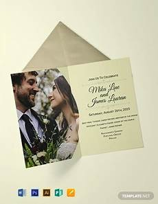 Invitation Free Download Free Editable Wedding Invitation Template Word Psd