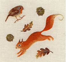 embroidery animals realistic tiny animals embroidered by giordano