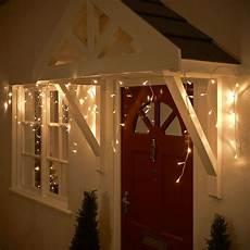 Warm White Hanging Christmas Lights Wilko Christmas 120 Led Lights Icicle Warm White With