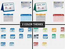 Calendar Slides Calendar Icons Powerpoint Sketchbubble