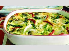 Friday night dinner ideas Crustless Pierogi Quiche