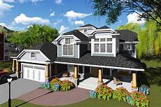 craftsman style house plan 6 beds 4 5 baths 5157 sq ft