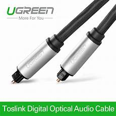 Ugreen Digital Optical Audio Cable Toslink by Ugreen Toslink Digital Cable Optical Fiber Audio Cable