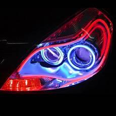 Led Daytime Running Lights Strips 60cm Flexible Car Soft Tube Led Light Drl Daytime