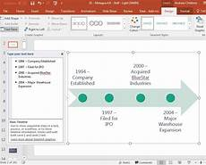 Powerpoint Timeline Smartart How To Make A Timeline In Powerpoint With Templates