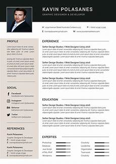 How To Design Resume Functional Resume Template Editable Downloadable Cv Word